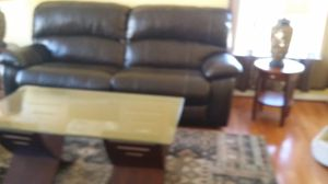 Recliner Leather sofa from Ashley for Sale in Baltimore, MD