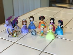 Toy Disney Princess Sofia The First Figurines for Sale in Puyallup, WA