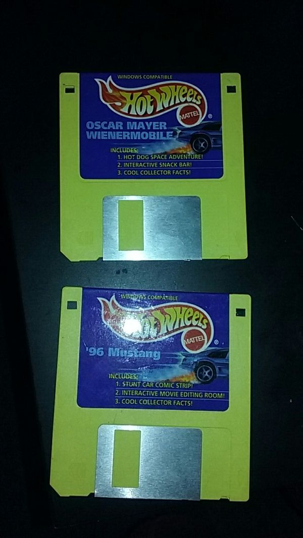 Two,1995 hot wheel computer floppy disc game for Sale in Long Beach, CA -  OfferUp