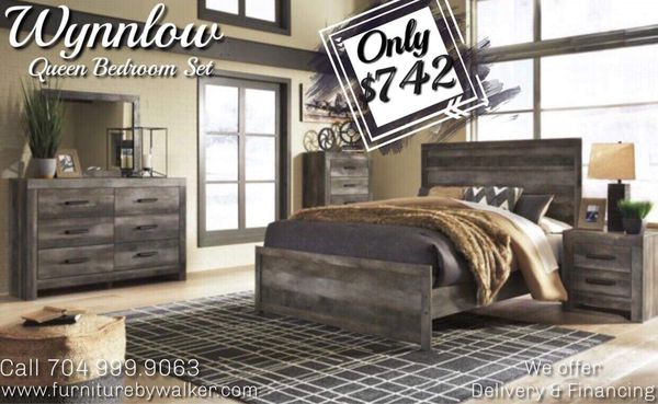 Wynnlow Queen Panel Bed Room Set By Ashley For Sale In Mooresville Nc Offerup
