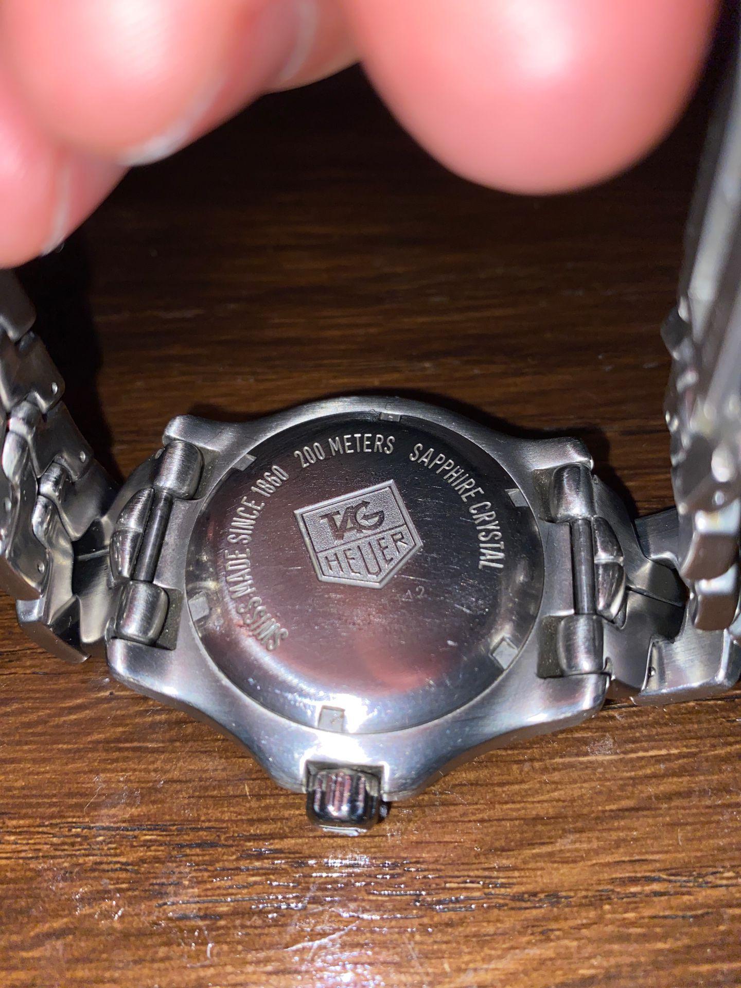 Tag Heuer 200 meters sapphire crystal