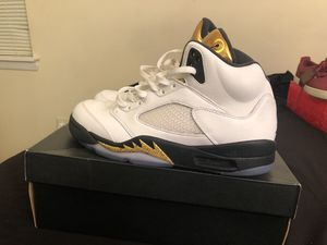 Jordan Olympic 5s Size 10 for Sale in Waldorf, MD