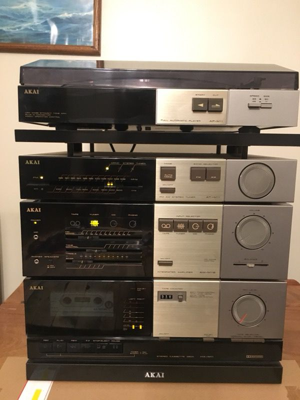 Car Dealerships In Ct >> Vintage AKAI STEREO SYSTEM / TURNTABLE for Sale in North Haven, CT - OfferUp