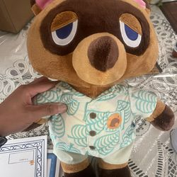 Tom Nook Animal Crossing Build A Bear Thumbnail