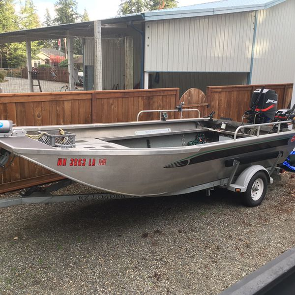 18' Valco Flat Bottom Jet Sled for Sale in Marysville, WA - OfferUp