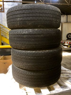 "Photo 18"" Goodyear Wrangler tires"