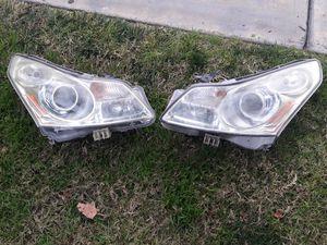 2008/2013 Infiniti g35..g37..q40 xenon headlights..hood for Sale in Colton, CA