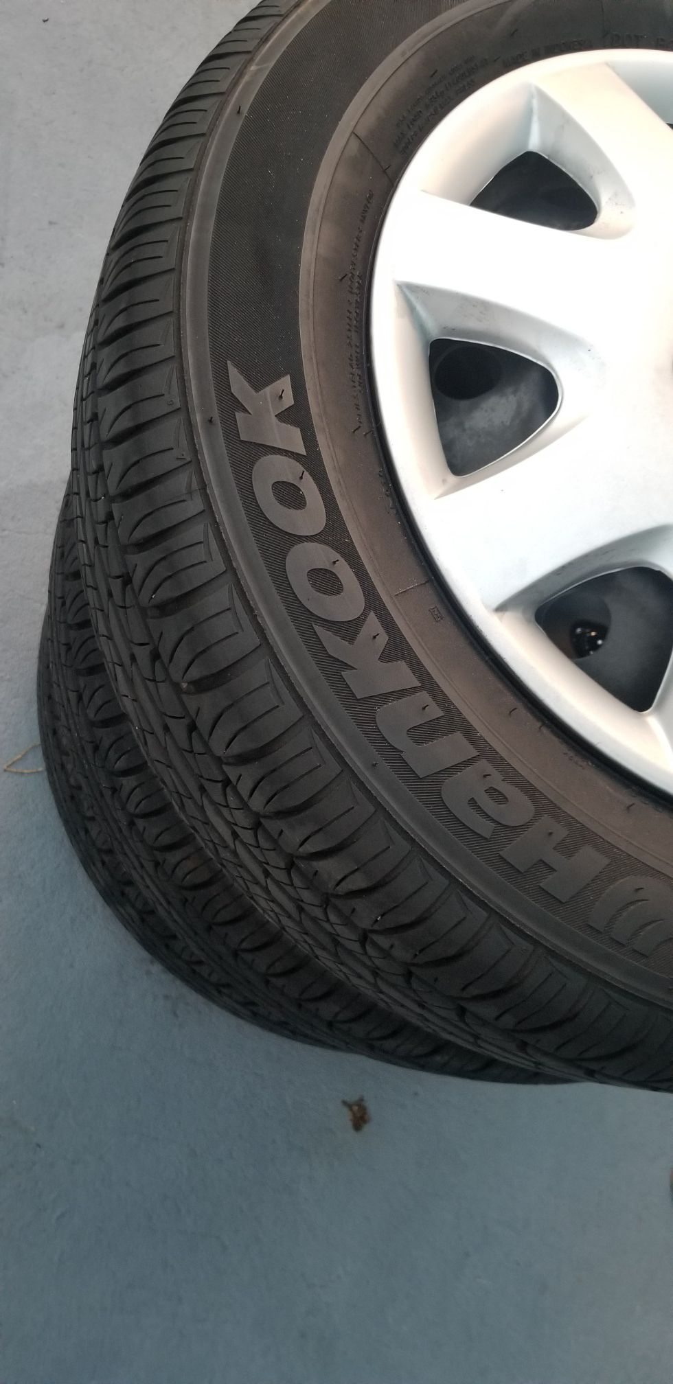 Rims and tire R16