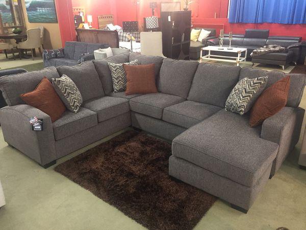Tremendous Endurance Shadow 2 Piece Sectional Sofa With Raf Chaise Uwap Interior Chair Design Uwaporg
