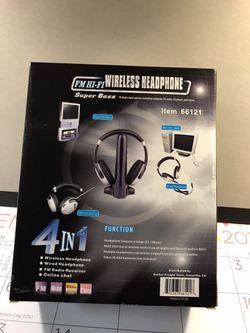 Super bass wireless headphones Thumbnail