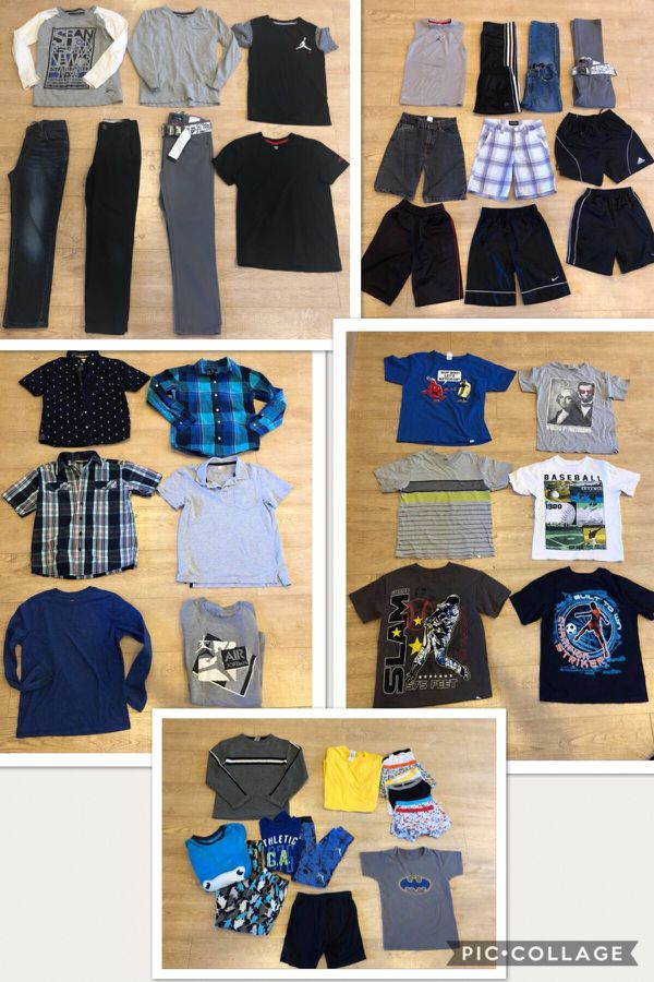 6f485fe3dbd Boys clothing size 7 8 name brands Gap kids