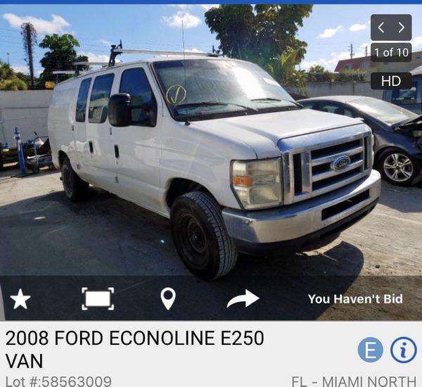 2008 Ford Econoline Steering Wheel For Sale In Miami, FL