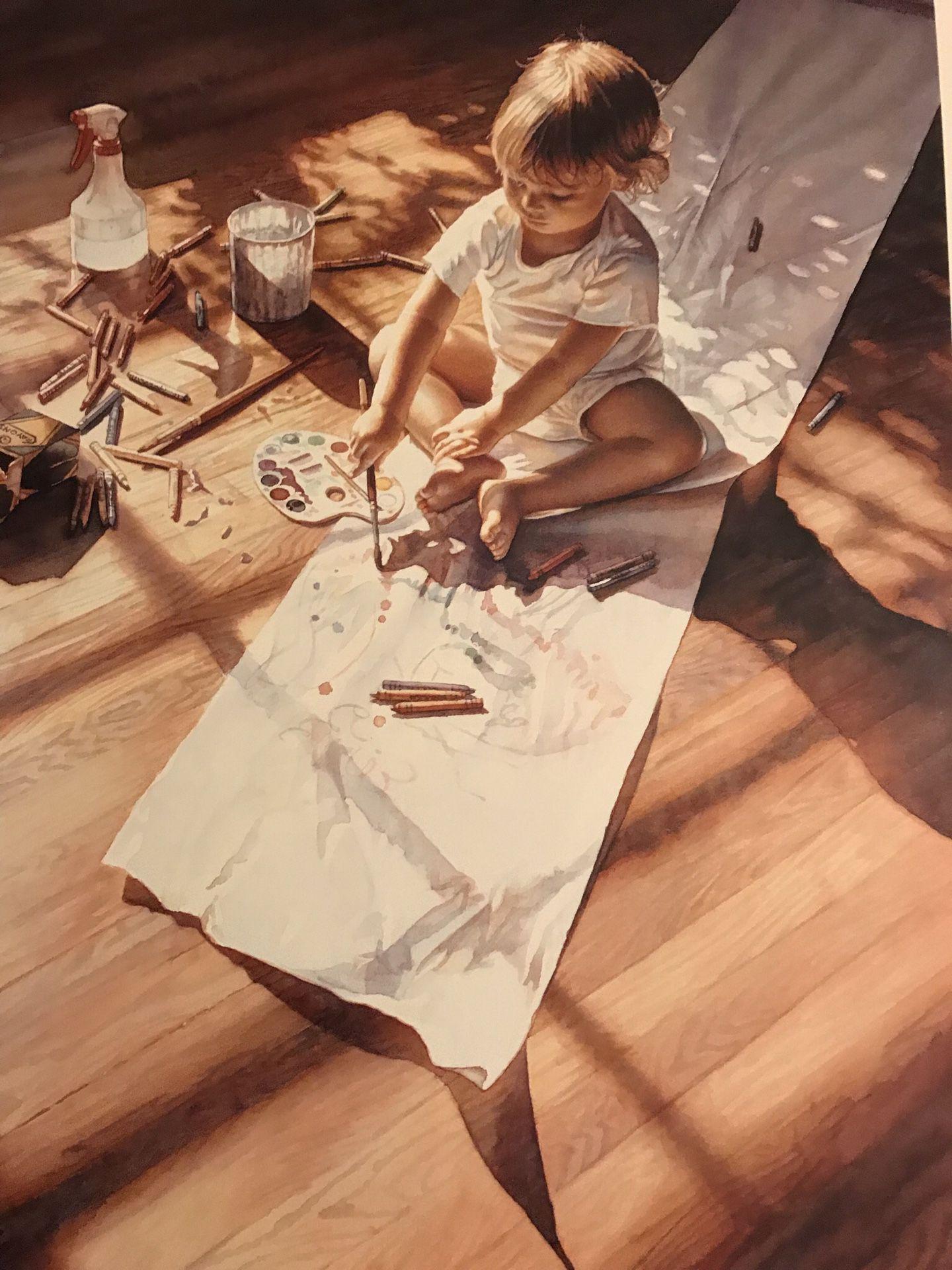 Steven Hanks signed prints (2)