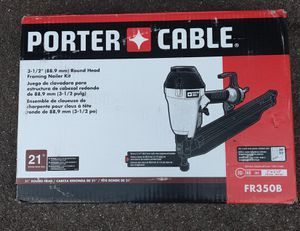 Photo Porter-Cable 21-Degree 3-1/2 in. Full Round Framing Nailer