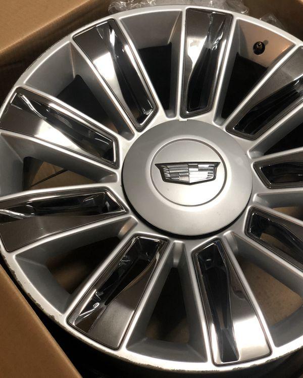 """Cadillac Escalade Platinum Rims 22"""" For Sale In Riverside"""