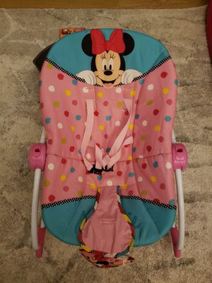 Photo Disney baby bright starts Minnie mouse PeekAboo infant to Toddler Rocker
