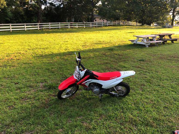 2017 honda 110 dirt bike