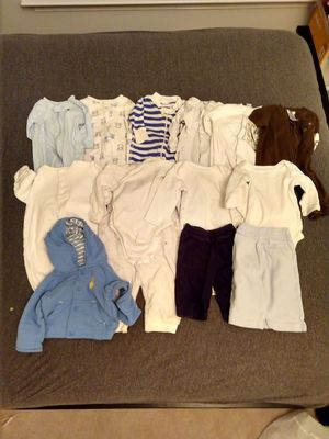 Baby clothes size newborn and 0-3 months for Sale in Germantown, MD