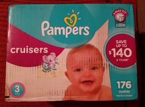 Pampers Cruisers Diapers for Sale in Austin, TX