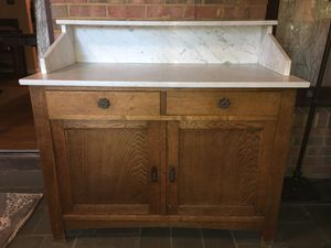 Antique Marble Top Cabinet for Sale in Fairfax, VA