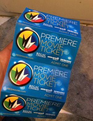 4 IMAX Movie Ticket *Special* for Sale in Philadelphia, PA