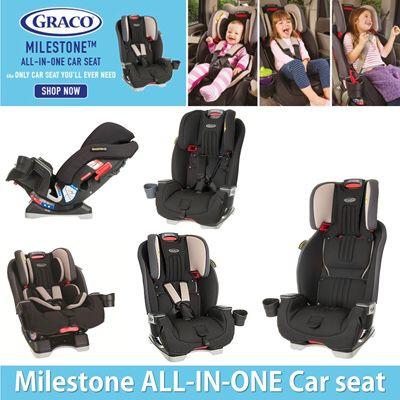 Graco Milestone All In One Car Seat Black New Box For Sale