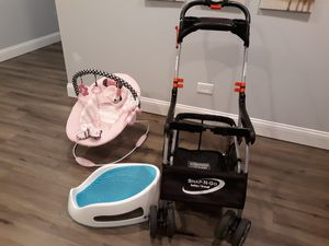 Photo Snap N go baby Trend, Angel Care, baby chair