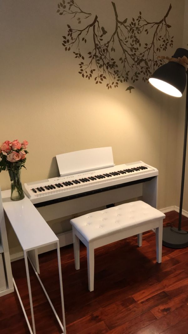 Yamaha P115 88 Key Digital Piano White For Sale In