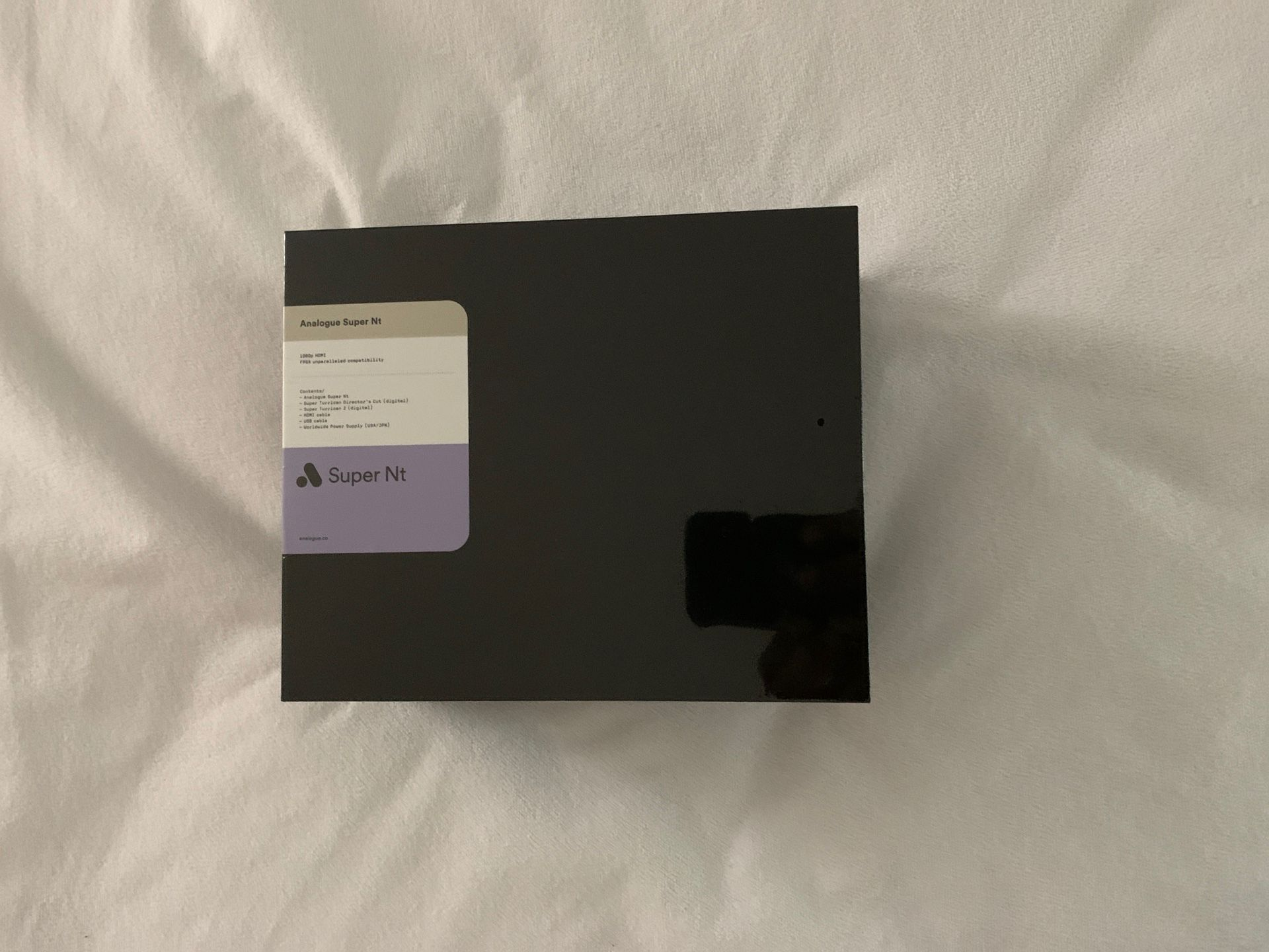 Brand New Sealed Analogue Super Nt Edition