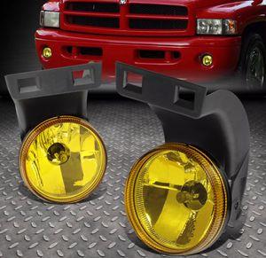 1994~98 Dodge Ram yellow fog lamps 🚚🚚 for Sale in Montebello, CA