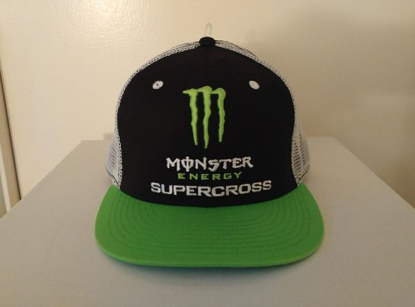 c962d8d503020 Monster Energy Supercross Snapback Trucker Hat for Sale in Dana Point