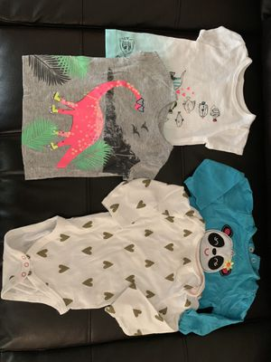 Baby girl clothes. Onesies, sleepers, dresses, and sweaters. for Sale in Reynoldsburg, OH