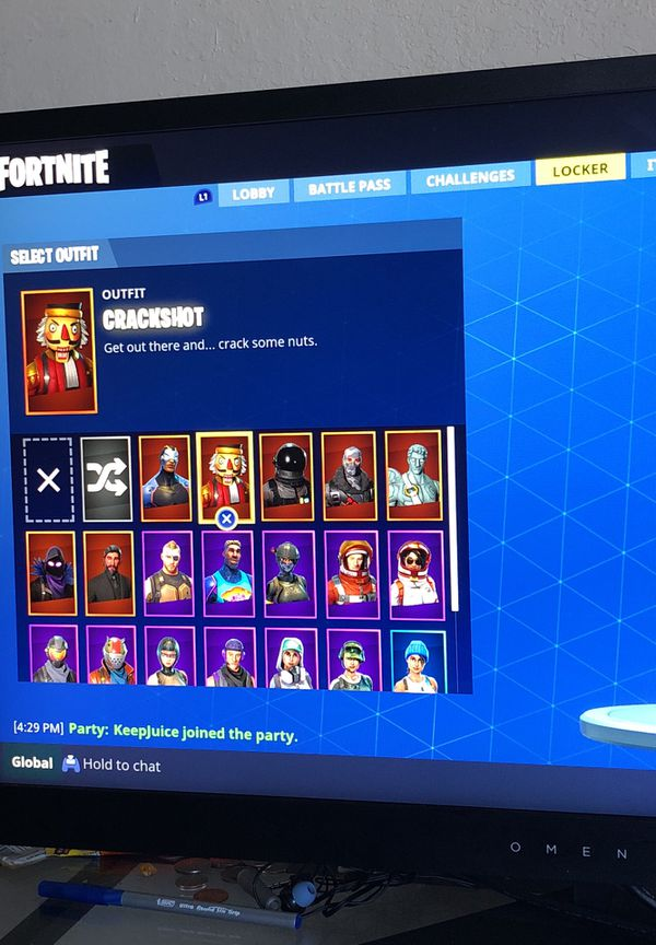 Fortnite Account For Sale Ps4 Cheap Fortnite Chest Tiers