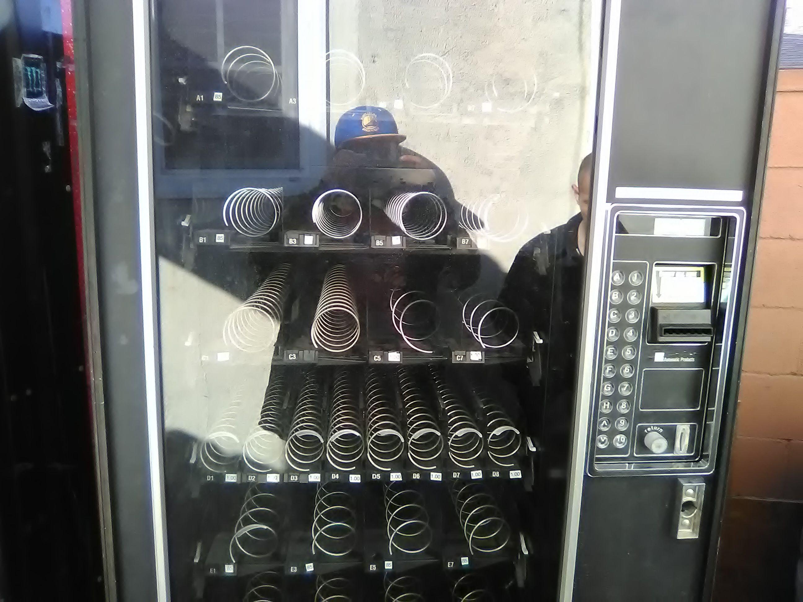 Cady vender machine