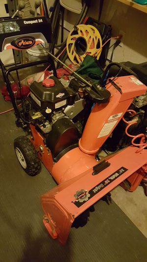 Ariens Compact 24 snowblower for Sale in Baltimore, MD