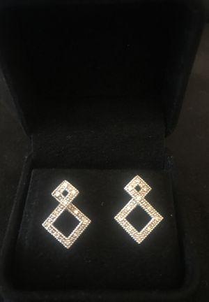 14k gold diamond earrings for Sale in Orlando, FL