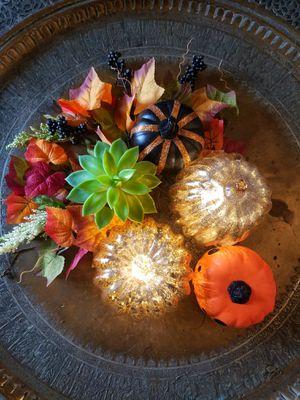Fall Decor / Light up pumpkins for Sale in Fairfax, VA