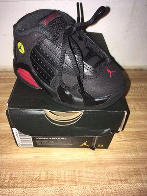 Black & Red Jordan Retro 14 Size 5 for Sale in Alexandria, VA