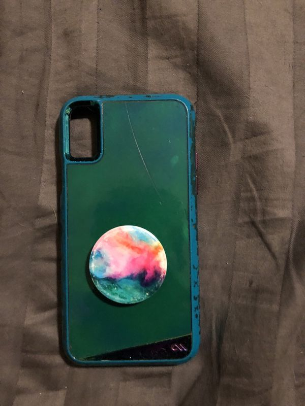 98c0bf269eb4 iPhone X case with pop socket for Sale in FL