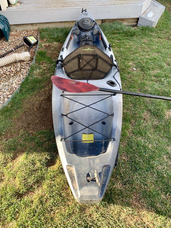 Ocean Kayak Tetra Angler 10 For Sale In Littleton Co Offerup