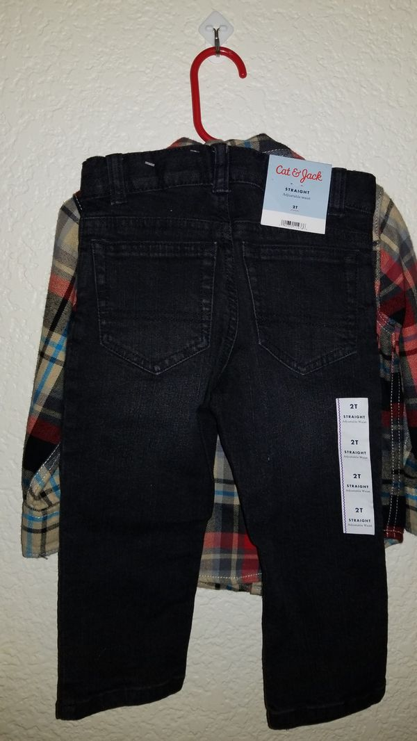 1c479244d Arizona Jean Co. flannel and NEW pant outfit for Sale in Tucson, AZ ...
