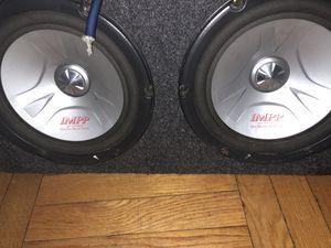 2 10 in pioneer impp w alpine amp for Sale in Falls Church, VA