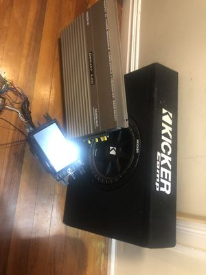 Car Audio system set for Sale in Bronx, NY
