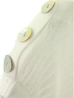 AmélieBoutik Women Boat Neck Semi-Sheer Sleeveless Tunic Knit Top   Thumbnail