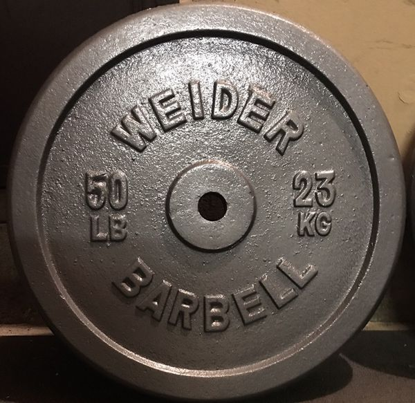 Pair 50 Lb Weider Standard Weight Plates For Sale In El Cajon Ca Offerup