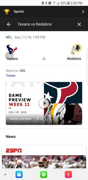 2 redskins tickets for Sale in Silver Spring, MD