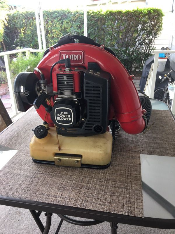 Toro Gas Backpack Leaf Blower For Sale In Lake Forest Ca Offerup