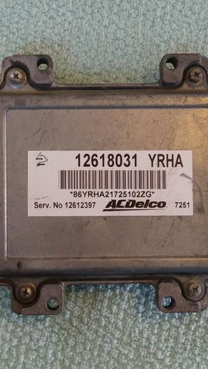 OEM Chevrolet Cobalt Malibu Engine Computer Module ECU ECM EBX Part 12618031 for Sale in Scranton, PA