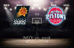 Detroit Pistons vs Phoenix Suns - NOV 25, 2018 for Sale in Detroit, MI