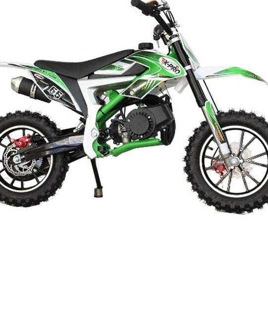 Photo XPRO Bolt 50cc Dirt Bike Gas Dirt Bike Kids Dirt